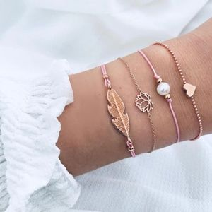 Jewelry - 3 for $20 Boho Rose Love Bracelet